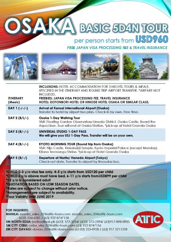 ATTIC TOURS PHILIPPINES, INC