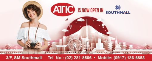 Attic is now open in SM Southmall!